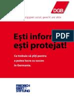 Esti Informat Esti Protejat Rumänisch