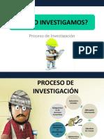 Proceso de Investigación V