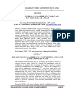 BOD Dan COD Sebagai Parameter Pencemar Air Dan Baku Mutu Air Limbah