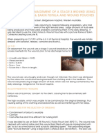 The Effective Management of a Stage 3 Wound
