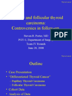 Thyroid Papillary and Follicular CA -