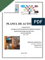 P{Lanul de Activitate 2017-2018