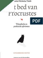 Het bed van Procrustes - Taleb (leesfragment)