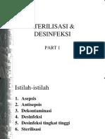 STERILISASI & DESINFEKSI
