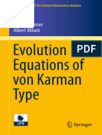 Evolution Equations of von Karman Type.pdf