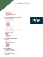 DBA 3 Creating a Data Warehouse v1