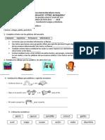 Cuestionario de Examen Tercero