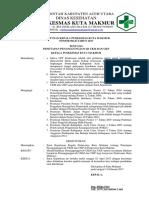 Keputusan Ka. Puskesmas Ttg Penetapan Penanggung Jawab UKM Dan UKP
