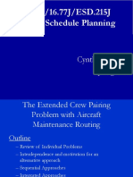Lec9 Crew Pairing and Aircraft Routing