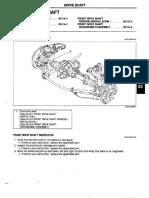 CV Replacement - Manual