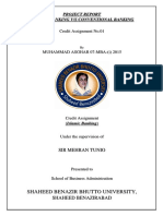 Project of Islamic Banking - M. Asghar