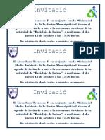 Invitacion Reciclaje de Bolsas