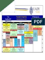 Programa Semana de La Facultad de Ingeniería de la Uady