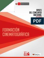 7. Bases Del Concurso Nacional Para La Formación Cinematográfica 2017