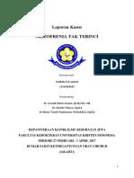 Case Report Skizo Tak Terinci