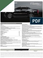 2010 Cadillac Escalade EXT Brochure Heyward Allen Motor Company Atlanta, GA