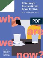 2017 Edinburgh International Book Festival Brochure