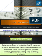 Latest AHM-520 Question Answers | Examsberg.com