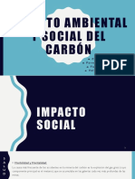 Impacto Ambiental y Social Del Carbón (1)