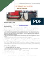 MB8 Automatic Sheet Metal Press Brake Bending Machine With DA56S System
