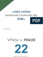 Prezentace DAB+ Český rozhlas - Karel Zýka
