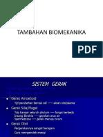 TAMBAHAN BIOMEKANIKA