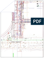 Drawing of LRT Station 118-118站(供建管及火车站对接)