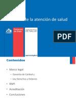 Calidad de La Atencion de Salud Dra. Liliana Escobar