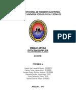 Ondas y Optica Effecto Duppler