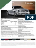 2010 Cadillac STS Brochure Heyward Allen Motor Company Atlanta, GA