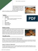 Hojaldre - Wikipedia, La Enciclopedia Libre