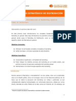 Marketing Estratégico de Distribucion - Clase 1