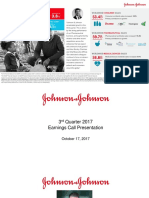 JNJ Earnings Presentation 3Q2017