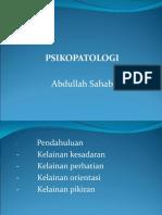 Psikopatologi