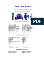 Reliable Pump Service, Inc