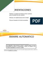 AMARRES AUTOMATICOS