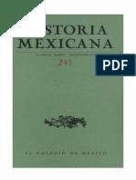 Historia Mexicana 241 Volumen 61 Número 1.pdf