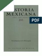 Historia Mexicana 243 Volumen 61 Número 3 - Novohispanos en la Monarquía.pdf