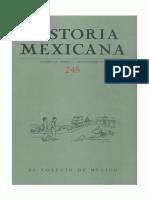 Historia Mexicana 245 Volumen 62 Número 1.pdf