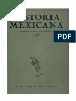 Historia Mexicana 247 Volumen 62 Número 3.pdf
