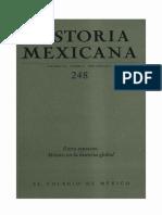 Historia Mexicana 248 Volumen 62 Número 4 - Entre espacios_México en la historia global.pdf