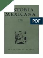 Historia Mexicana 250 Volumen 63 Número 2.pdf