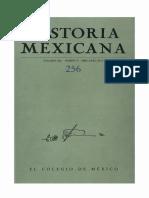 Historia Mexicana 256 Volumen 64 Número 4.pdf
