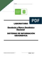 Laboratorio Geodesia Marco Geocentrico 2017