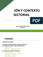 Contexto y Situación Sectorial