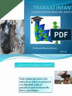 Charla TRABAJO INFANTIL en Aldea San Antoniio Febrero 2016