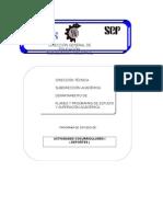 ACTIVIDADES COCURRICULARES I ( DEPORTES )