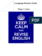 IGCSE English Revision Guide Core