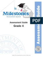 grade 4 assessment guide