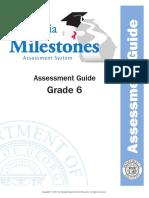 grade 6 assessment guide